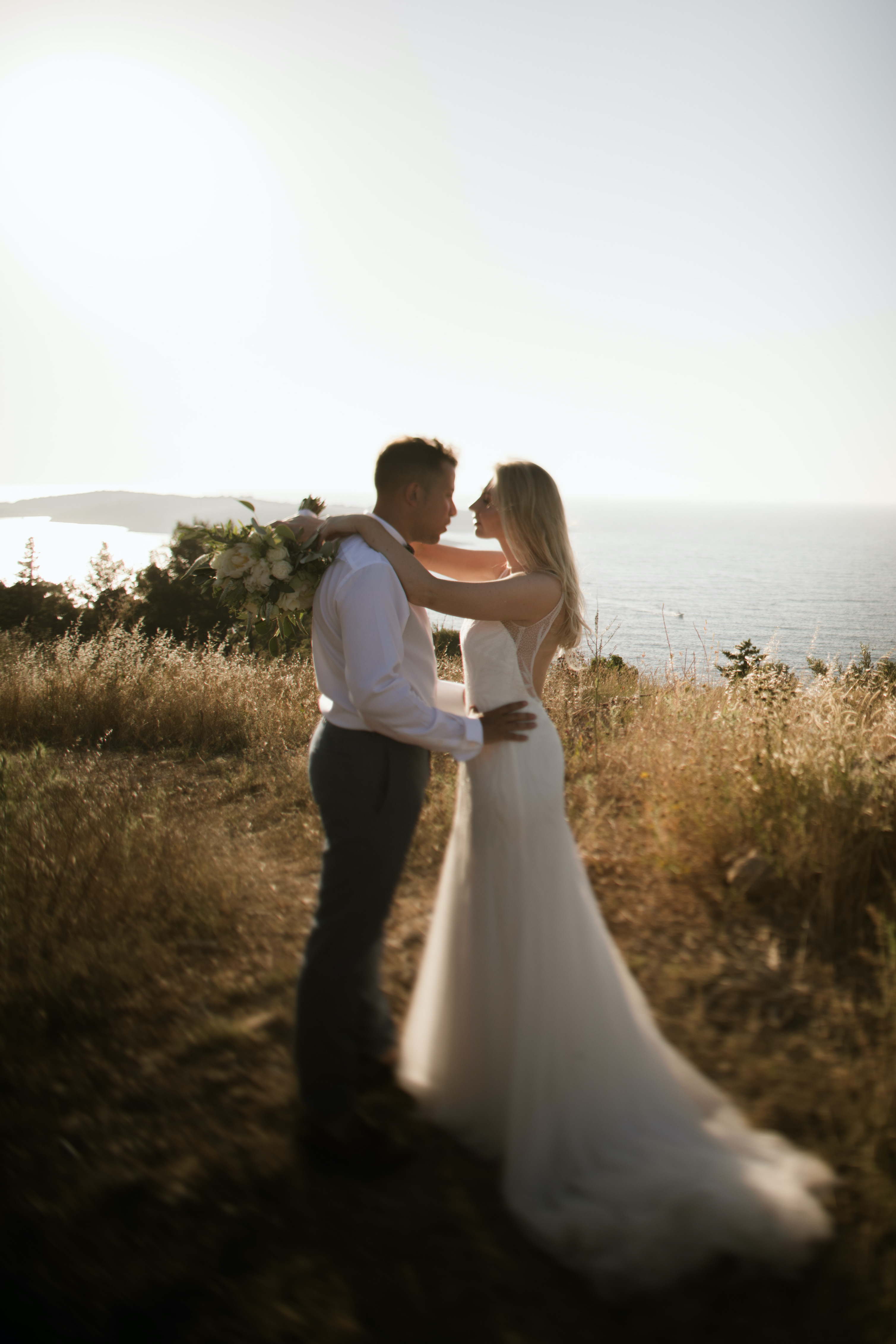 Real wedding in Croatia: Corinna & Ben