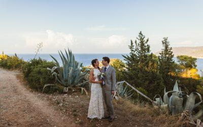 Beach wedding in Croatia: Renee & Lukas
