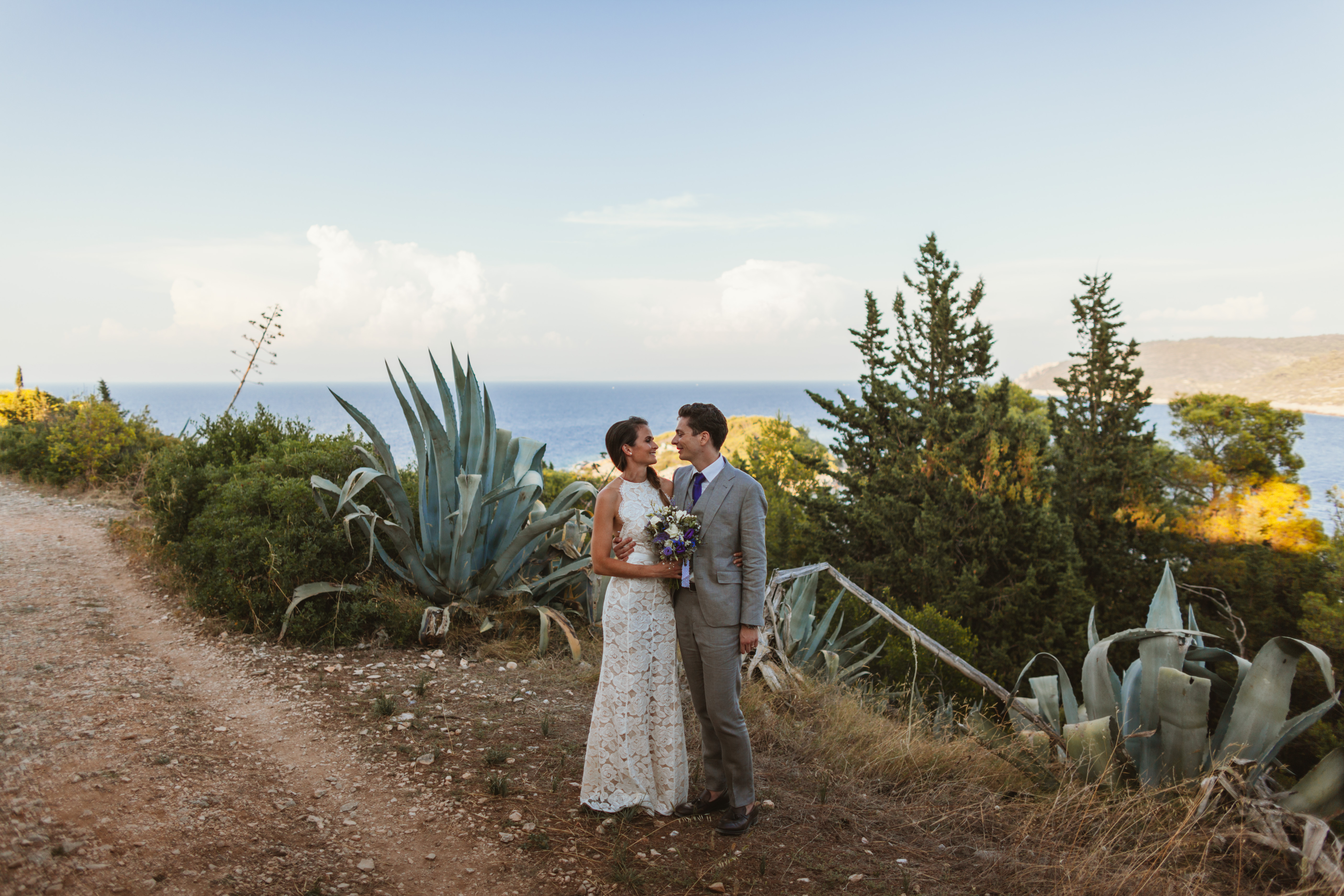 Beach wedding in Croatia: Renee & Lukas
